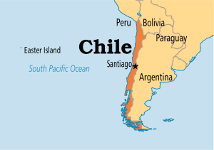 First stop CHILE